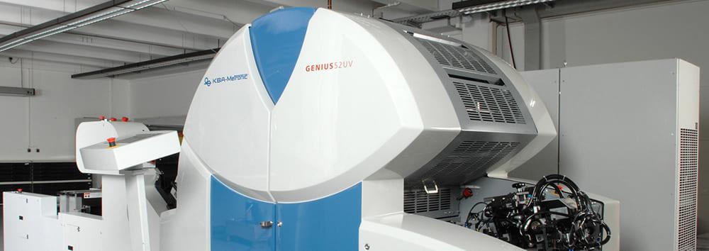 печатная машина genius uv52